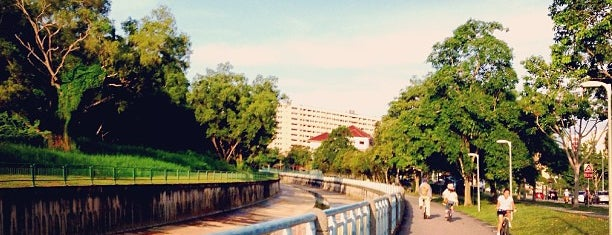 Tampines Park Connector is one of Trek Across Singapore.