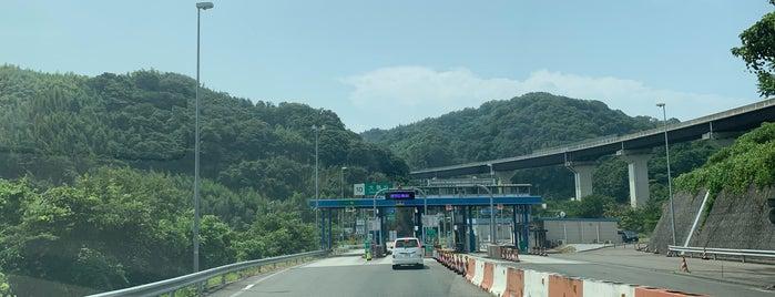 大島北IC is one of 西瀬戸自動車道(しまなみ海道).