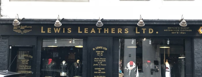 Lewis Leathers is one of London Sneakers and Fashion.