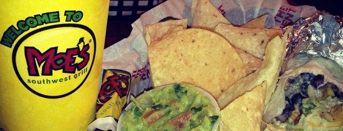 Moe's Southwest Grill is one of Maiddi: сохраненные места.