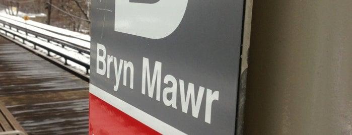 CTA - Bryn Mawr is one of Chicago.
