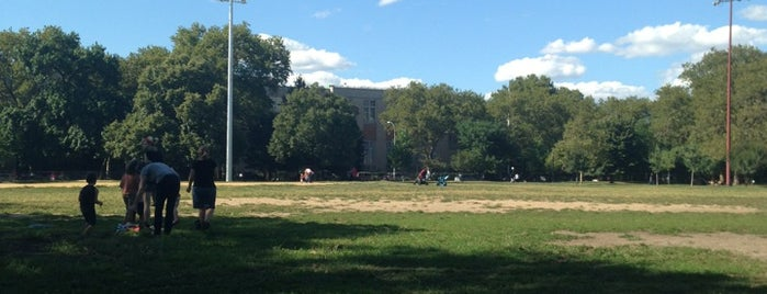 McCarren Park is one of The New Yorkers: Williamsburg/Greenpoint.