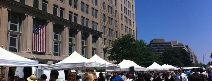 FRESHFARM Market by the White House is one of สถานที่ที่บันทึกไว้ของ Audrey.