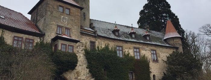 Schlosshotel Hohenstein is one of Lieux qui ont plu à SPANESS.