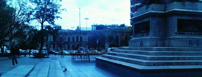 Plazoleta Vélez Sarsfield is one of Orte, die Soledad gefallen.