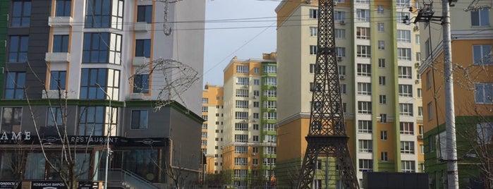 ЖК «Европейське Місто» is one of Tempat yang Disukai Yana.