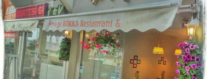 EGE ROKKA RESTAURANT is one of Ozancanさんの保存済みスポット.
