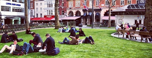 Leicester Square is one of London Town.