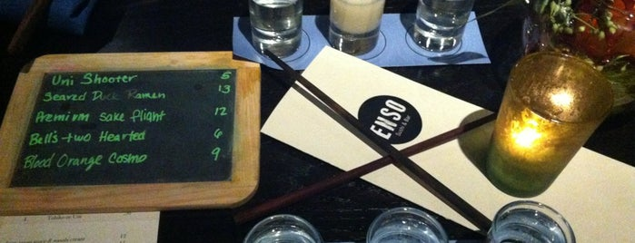 Enso Sushi & Bar is one of Chicago Eats.