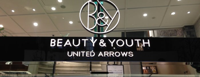 BEAUTY & YOUTH UNITED ARROWS is one of Shopping Japan.