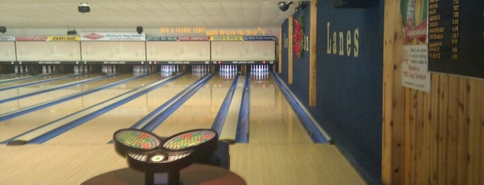 New London Lanes is one of Paulina's Liked Places.