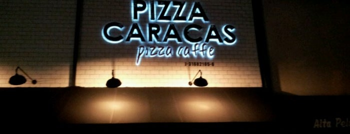 Pizza Caracas. Pizza-Caffe is one of Jimmyさんのお気に入りスポット.