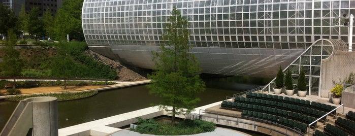 Myriad Botanical Gardens is one of Oklahoma City.