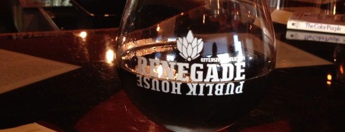 Renegade Brewery is one of Locais curtidos por Brady.