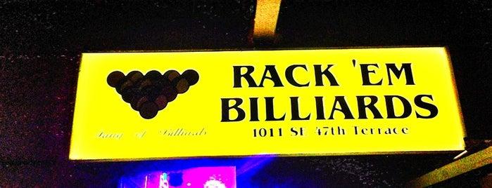 Rack'em Billiards is one of Aliseさんの保存済みスポット.