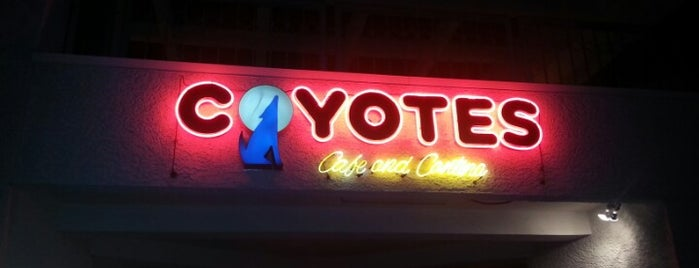 Coyote's Cafe & Cantina is one of Vegan dining in Las Vegas.