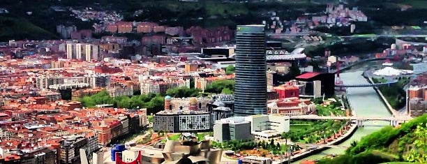 Mirador de Artxanda is one of Bilbao.