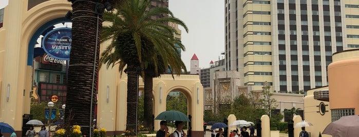 MBSスタジオ in USJ is one of Universal Studios Japan.
