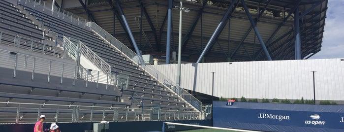 Court 11 - USTA Billie Jean King National Tennis Center is one of Tempat yang Disukai Jenny.