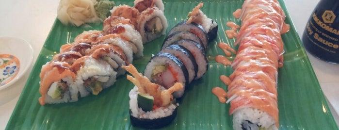 Nhinja Sushi & Wok is one of Orte, die Lauren gefallen.