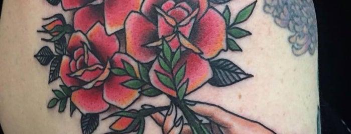 Dark Age Tattoo is one of ben: сохраненные места.