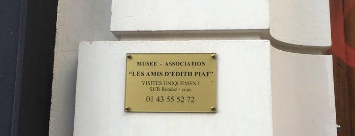 Musée Édith-Piaf is one of Paris Gratuit.