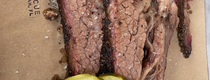 Hometown Barbecue is one of Miami.