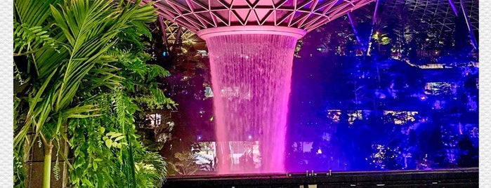 Jewel Changi Airport is one of Somebody Feed Phil, Netflix.