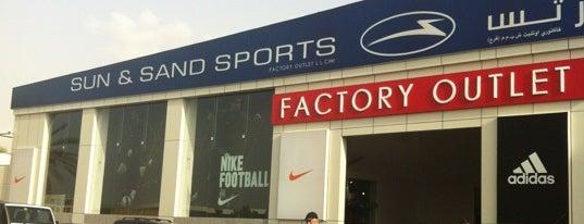 Sun & Sand Sports Factory Outlet is one of Gespeicherte Orte von Mahdi.