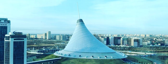 Astana Marriott Hotel is one of Erdem's Liked Places.