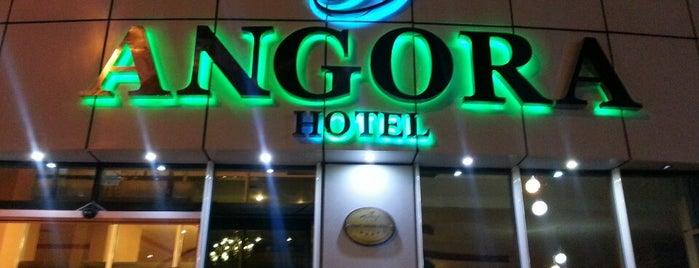 Angora Hotel is one of Tatil Mekanları.