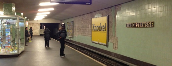 U Birkenstraße is one of Posti che sono piaciuti a Charles.