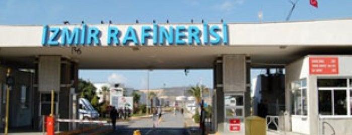 Tüpraş İzmir Rafinerisi is one of Locais curtidos por Recep Kader.