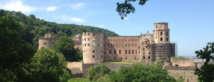 Castelo de Heidelberg is one of Locais curtidos por Friedrich.