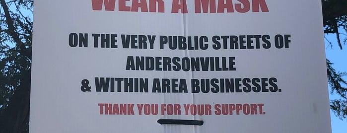 Andersonville is one of Lieux qui ont plu à Rick.