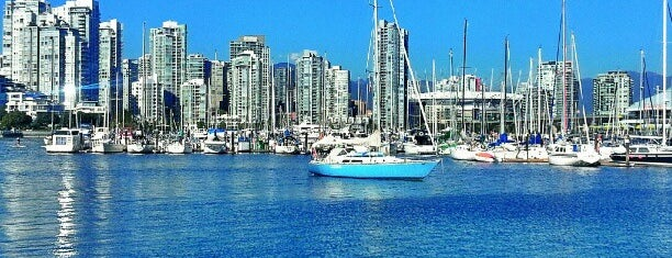 False Creek Seawall is one of Vancouver.