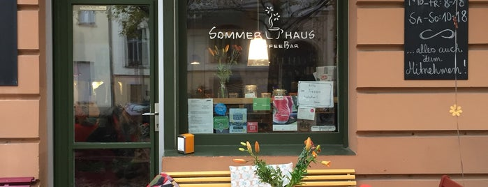 Sommerhaus KaffeeBar is one of Locais curtidos por elianeroest 🙋🏻‍♀️.