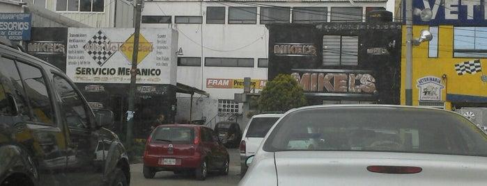 Taller mecánico Alta Velocidad is one of Tempat yang Disukai Vicky Nito.