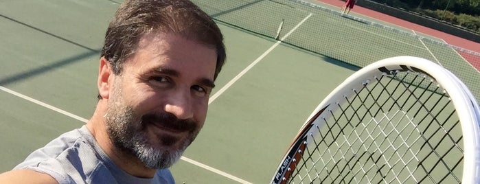 Tuscan Valley Tennis Court is one of Lieux qui ont plu à Köksal.
