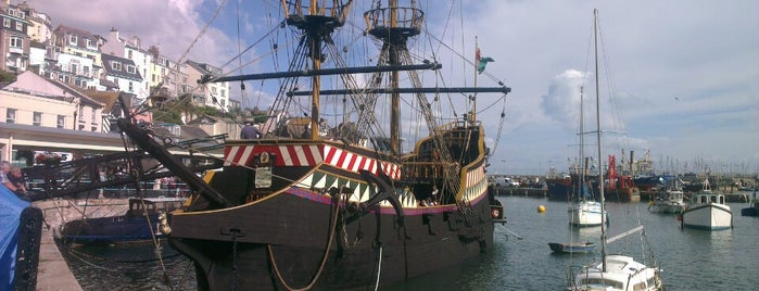 The Golden Hind is one of Ships (historical, sailing, original or replica).