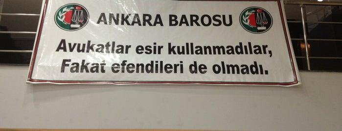 Ankara Barosu Eğitim Merkezi is one of İstanbul.