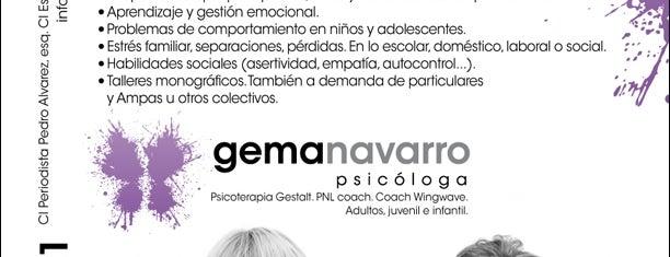 Gema Navarro Psicóloga is one of Lieux sauvegardés par Fernando.