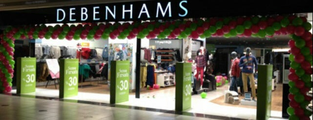 Debenhams is one of istanbul.