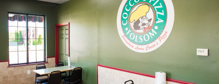 Cocco's Pizza Folsom is one of Lugares  Especiais.