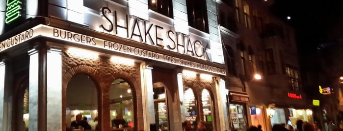 Shake Shack is one of Istanbul.