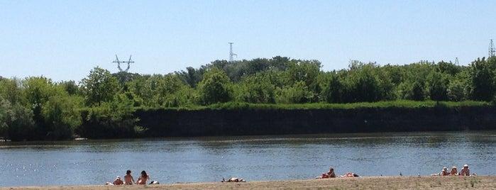 Городской пляж is one of Irisha'nın Kaydettiği Mekanlar.
