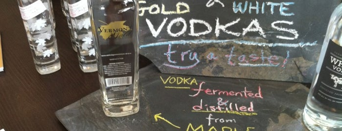 Vermont Spirits Distillery is one of Locais salvos de Jason.