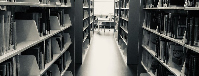 Atılım Üniversitesi Kadriye Zaim Kütüphanesi is one of Merve : понравившиеся места.