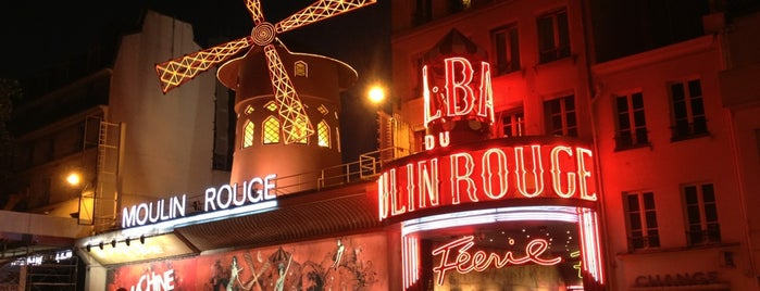 Place Blanche is one of Paris: husband's hometown ♥.