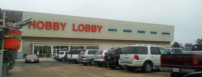Hobby Lobby is one of Lieux qui ont plu à SooFab.